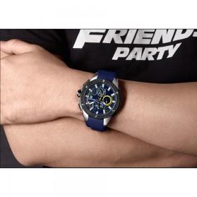 MEGIR Jam Tangan Analog Pria - 2053G - Blue - 7