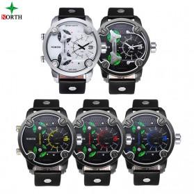 NORTH Jam Tangan Analog - 6001 - Black - 2