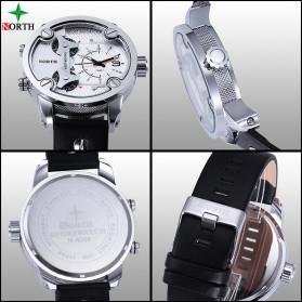 NORTH Jam Tangan Analog - 6001 - Black - 4