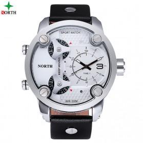 NORTH Jam Tangan Analog - 6001 - White