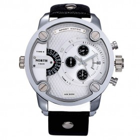 NORTH Jam Tangan Analog - DZ7257 - White