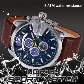 NORTH Jam Tangan Analog - 6002 - Black - 3