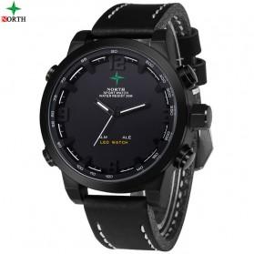 NORTH Jam Tangan Analog Digital - 6017 - Black