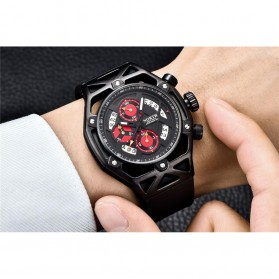 NORTH Jam Tangan Analog Kasual - 7710 - Black