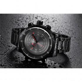 NORTH Jam Tangan Analog Kasual Stainless Steel - 7716 - Black - 4