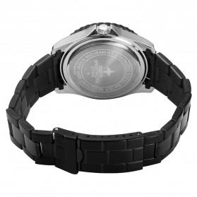 NORTH Jam Tangan Analog Kasual Stainless Steel - 7002 - Black - 3