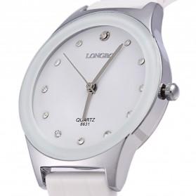 Longbo Jam Tangan Pria Luxury Ceramic - 8631 - White - 2