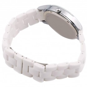 Longbo Jam Tangan Pria Luxury Ceramic - 8631 - White - 3