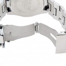 Curren Watch Jam Tangan Analog Pria - MK1 - Silver Black - 3
