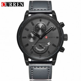 Curren Watch Jam Tangan Analog Pria - MK2 - Black/Black - 1