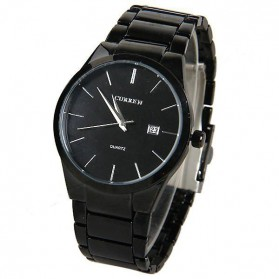 Curren Watch Jam Tangan Analog Pria - MK4 - Black