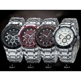Curren Watch Jam Tangan Analog Pria - mk53 - Black - 5