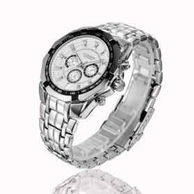 Curren Watch Jam Tangan Analog Pria - mk53 - White - 2