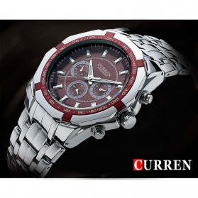 Curren Watch Jam Tangan Analog Pria - mk53 - White - 4