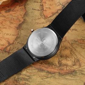 Curren Watch Jam Tangan Analog Pria - mk55 - Silver - 4