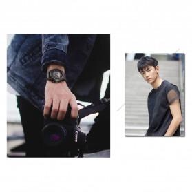 Curren Watch Jam Tangan Analog Pria - 8287 - Black/Orange - 9
