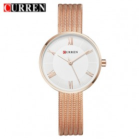Curren Watch Jam Tangan Analog Wanita - 9020 - Rose Gold