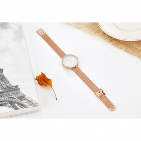 Curren Watch Jam Tangan Analog Wanita - 9020 - Rose Gold - 9