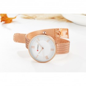 Curren Watch Jam Tangan Analog Wanita - 9020 - Rose Gold - 10