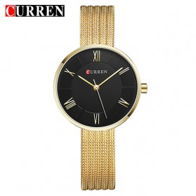 Curren Watch Jam Tangan Analog Wanita - 9020 - Golden