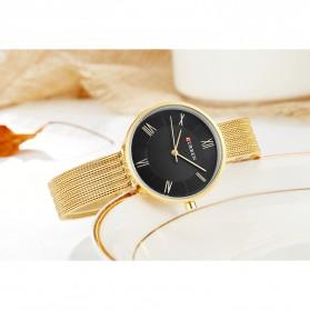 Curren Watch Jam Tangan Analog Wanita - 9020 - Golden - 8