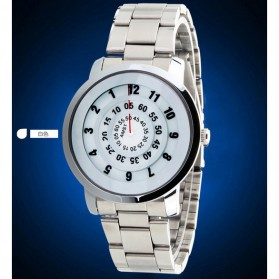AMST Jam Tangan Analog Pria Stainless Steel - AM1040 - Silver