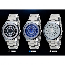 AMST Jam Tangan Analog Pria Stainless Steel - AM1040 - Silver - 2