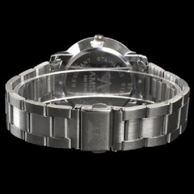 AMST Jam Tangan Analog Pria Stainless Steel - AM1040 - Silver - 3