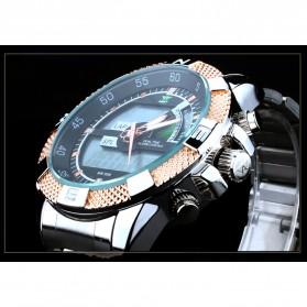 AMST Jam Tangan Digital Analog Pria - AM3005 - Silver/Gold - 3