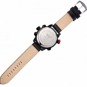 AMST Jam Tangan Analog Digital Modern Pria - AM3013 - Black - 5