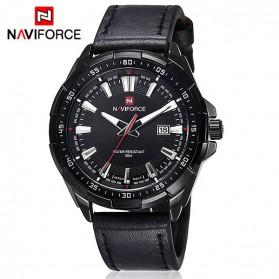 Navi Force Jam Tangan Analog Pria - 9056 - Black