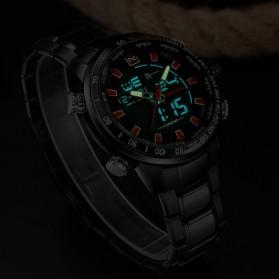 Navi Force Jam Tangan Analog Digital Pria - 9093 - Black - 5
