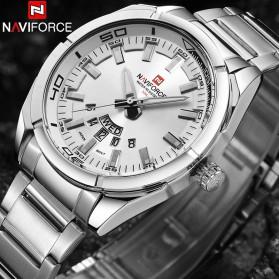 Navi Force Jam Tangan Analog Pria - 9038 - Silver - 3