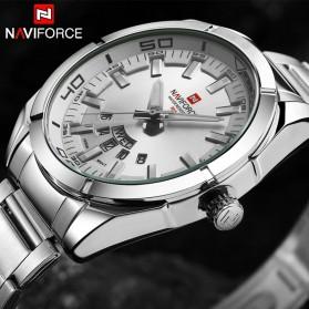 Navi Force Jam Tangan Analog Pria - 9038 - Silver - 4