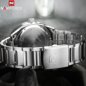 Navi Force Jam Tangan Analog Pria - 9038 - Silver - 6