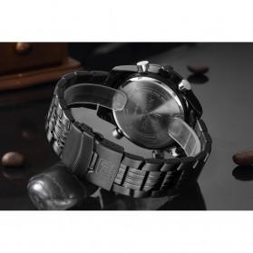 Navi Force Jam Tangan Analog Pria - 9024 - Black - 6