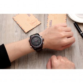 Navi Force Jam Tangan Analog Pria - 9024 - Black - 7