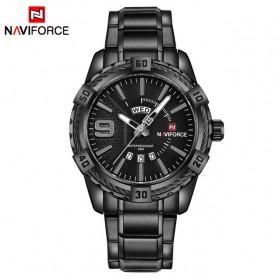 Navi Force Jam Tangan Analog Pria - 9117 - Black - 1