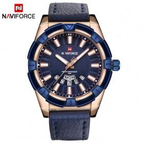 Navi Force Jam Tangan Analog Pria - 9118 - Blue
