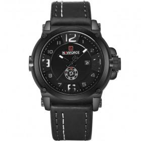 Trend Fashion Pria Terbaru - Navi Force Jam Tangan Analog Army Pria - 9099 - Black White