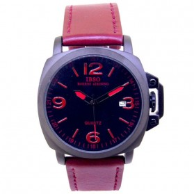 IBSO Jam Tangan Analog Wanita - 7479/7480 - Red - 1