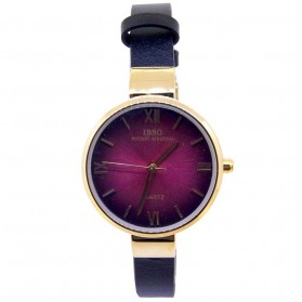 IBSO Jam Tangan Analog Wanita - 7498 - Black/Red