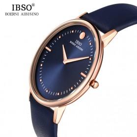 IBSO Jam Tangan Analog Pria Ultra Thin - 16151G - Red - 2