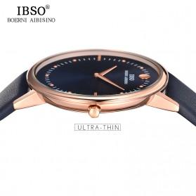 IBSO Jam Tangan Analog Pria Ultra Thin - 16151G - Red - 3