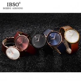 IBSO Jam Tangan Analog Pria Ultra Thin - 16151G - Red - 6