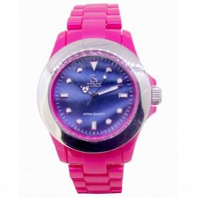 SK TIME Jam Tangan Elegan - SK3034a - Pink