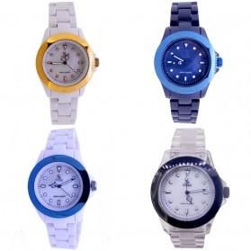 SK TIME Jam Tangan Elegan - SK3034a - Ocean Blue - 3