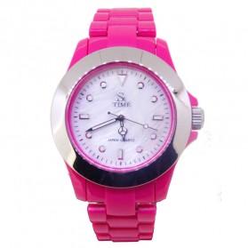 SK TIME Jam Tangan Elegan - SK3034a - Baby Pink - 1