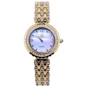 SK TIME Jam Tangan Analog Diamond - SK05 - Golden