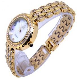 SK TIME Jam Tangan Analog Diamond - SK05 - Golden - 2